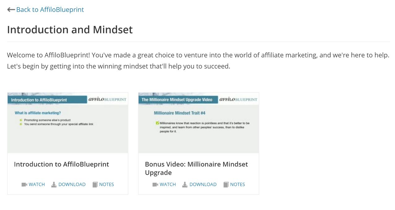 Step 1 - Introduction & Mindset. Learn more about what affiliate marketing is, and how to get into the mindset of a successful affiliate.