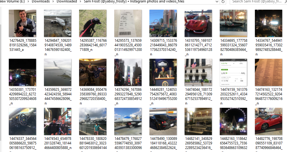 Tutorial: Download All Images From An Instagram Search Or Profile